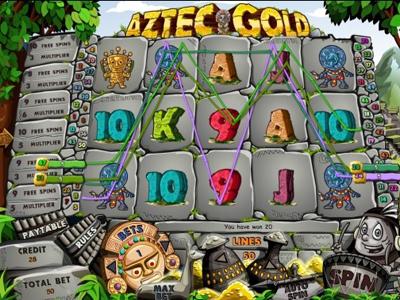 игровые автоматы бесплатно Aztec Gold