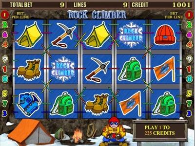 игровые автоматы бесплатно Rock Climber
