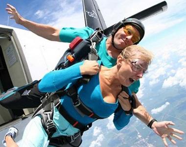 прыжок с парашютом в Москве цены