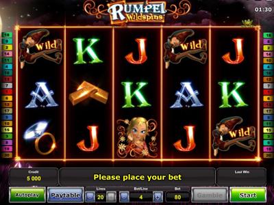бесплатные игровые автоматы Rumpel Wildspins