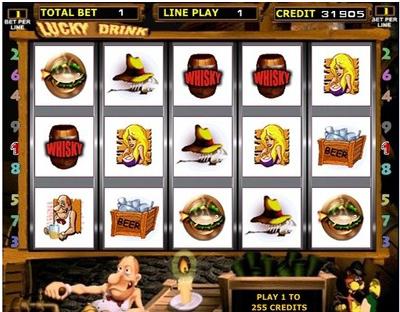 Игровые автоматы бесплатно Черти - Lucky Drink