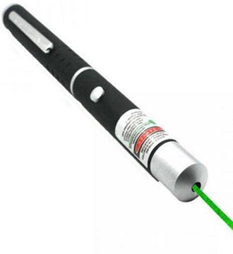 лазерная указка зелёного цвета