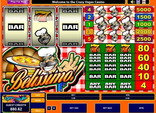 Бесплатные игровые автоматы: Belissimo (Белиссимо)