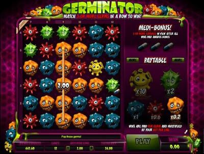 бесплатные игровые автоматы Germinator