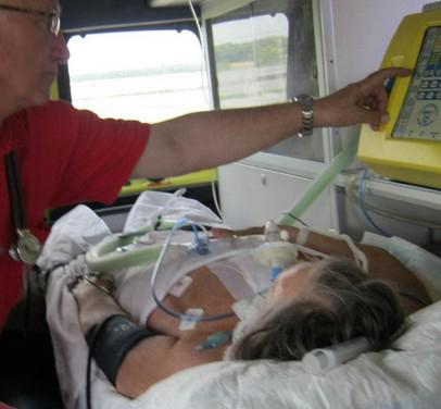 перевозка больного из больницы домой