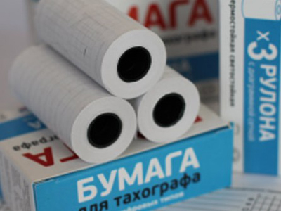 Бумага для тахографа штрих