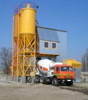 бетонно-растворный завод
