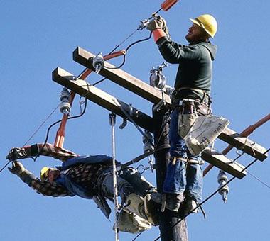 подключение к линии электропередач