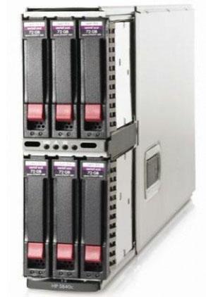 hp blade серверы