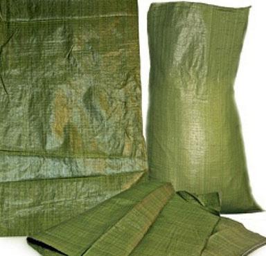 мусорные мешки полипропиленовые зеленые