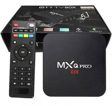 смарт приставка для телевизора MХQ Prо s905