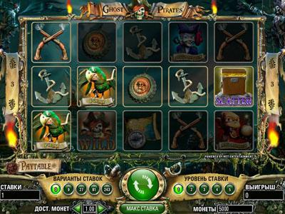 бесплатный игровой автомат Пираты-призраки