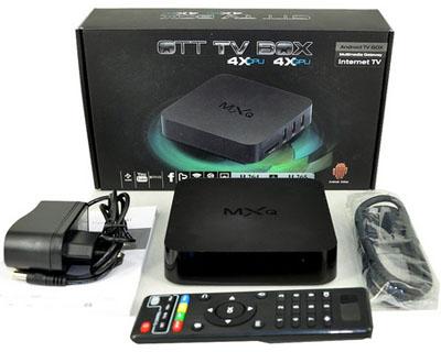 приставка mxq s805