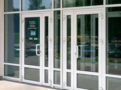 входные металлопластиковые двери Salamander