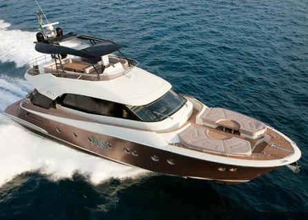 купить новую моторную яхту