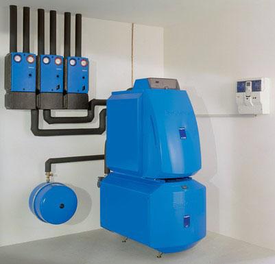 газовая отопительная система