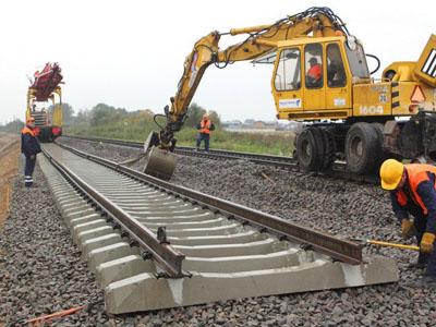 строительство новых железных дорог