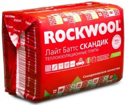 базальтовый утеплитель ROCKWOOL