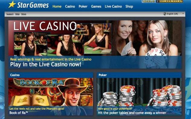 онлайн казино stargames.com