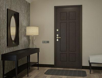отделка дверей ламинатом