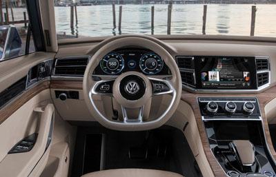 стиль Volkswagen Teramont