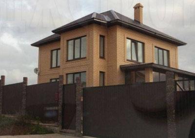 проекты домов и коттеджей из облицовочного кирпича