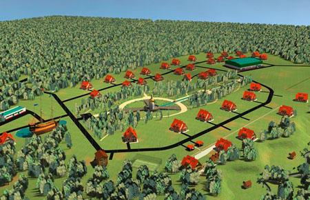дачный поселок в Тульской области Ясные Горки