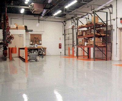производство промышленных бетонных полов