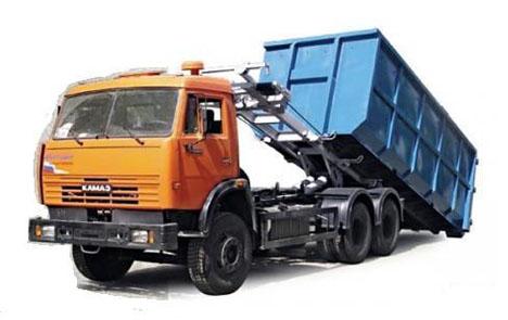 вывоз мусора Люберцы контейнер 27 м3