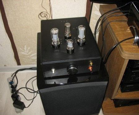 Ламповый усилитель на выходной лампе 6п3с