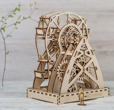 механическое колесо обозрения