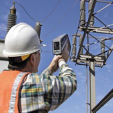измерение статического электричества