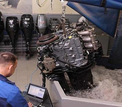 ремонт подвесного мотора