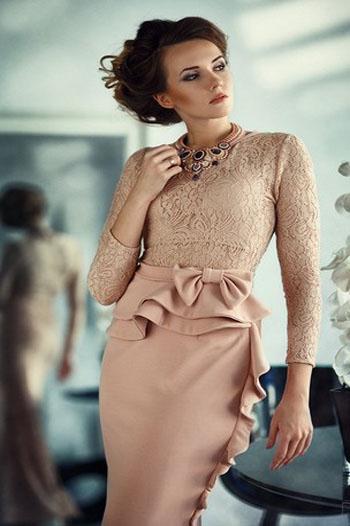 дизайнерское коктейльное платье