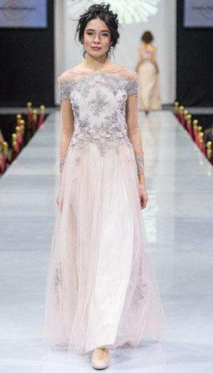 дизайнерское бальное платье