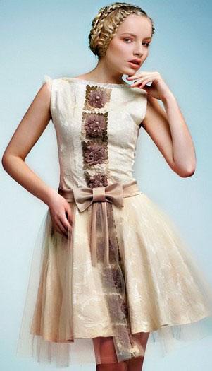 дизайнерское танцевальное платье