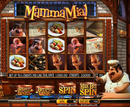 бесплатный игровой автомат Mamma Mia (Мама Миа)