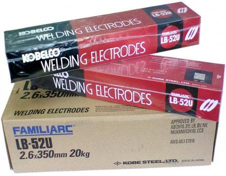 купить электроды для сварки Kobelco Lb52u