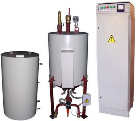 электрический промышленный парогенератор