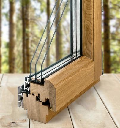 деревянные окна Woodhouse