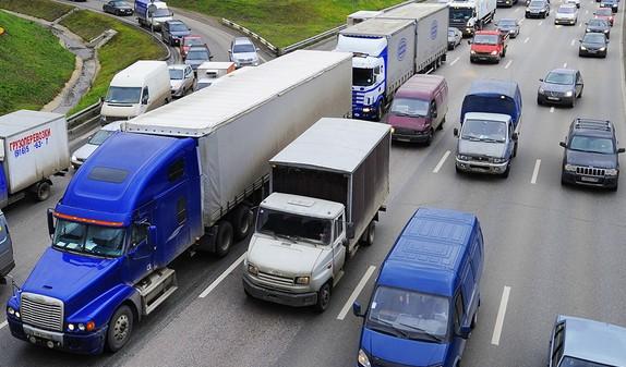 Проверка пропуска на грузовой автомобиль на мкад