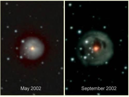 """Снимки сделаны американским зондом """"Voyager"""", покидающем пределы Солнечной системы."""