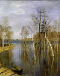 И. Левинан. Весна. Большая вода