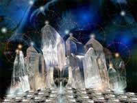 Кристаллические Существа - высшие формы проекций минеральных элементалов