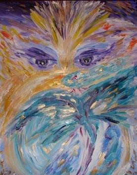 Эта картина - энергия! Эта картина - любовь! Эта картина - призыв! Эта картина - сила и мощь! Эта картина - личное послание каждому учителю, мастеру, таланту, духовно пробужденной лиге людей! Эта картина - Крайон-портал, Крайон- магнетическая субстанция Крайон!