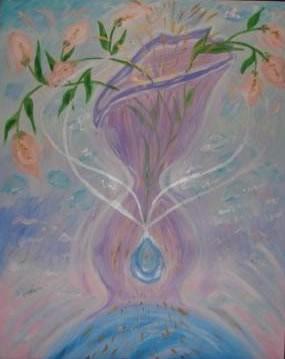 Фиолетовое пламя любви (энергетические картины Нового Культурного Ренессанса)