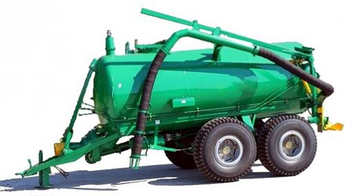 Машина для внесения органических удобрений и другие новинки техники на выставке «Сельхоз-модерн»