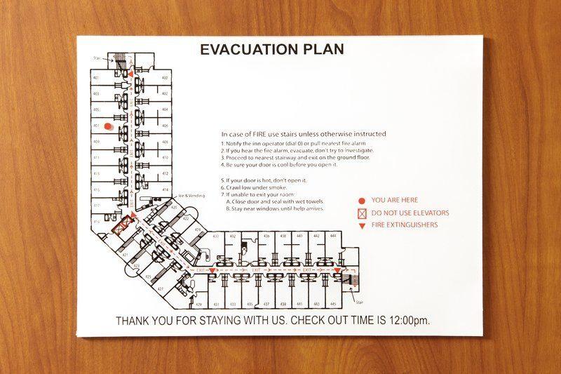 План эвакуации для учреждений образования
