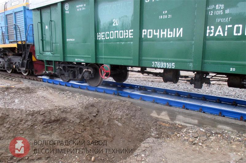 Весы вагонные БАМ №1 среди электронных железнодорожных весов