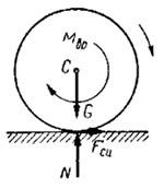 Применение теоремы о сохранении центра масс